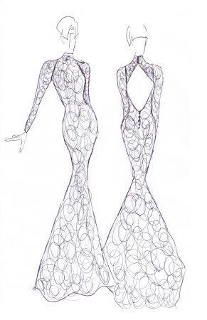 sheath-lace-long-sleeve-keyhole-back-high-neck-wedding-dress-001